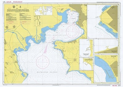 Thermaikos Gulf - Thessaloniki Port Nautical Chart