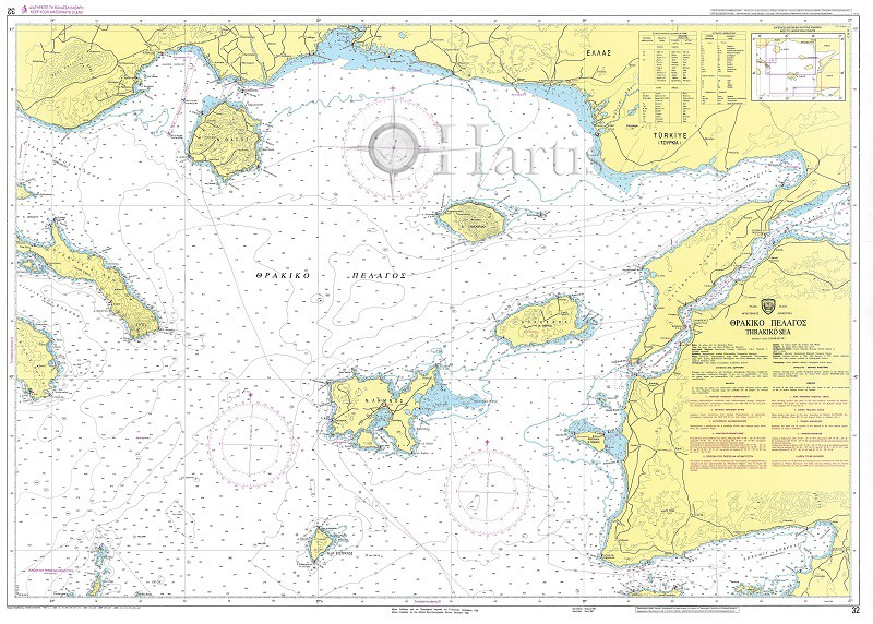 Thracian Sea Nautical Chart