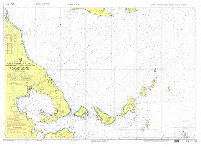 Cape Platamon to Skyros Island - Pagasitikos Gulf Nautical Chart