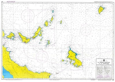 North Sporades - Ag. Efstratios  Nautical Chart