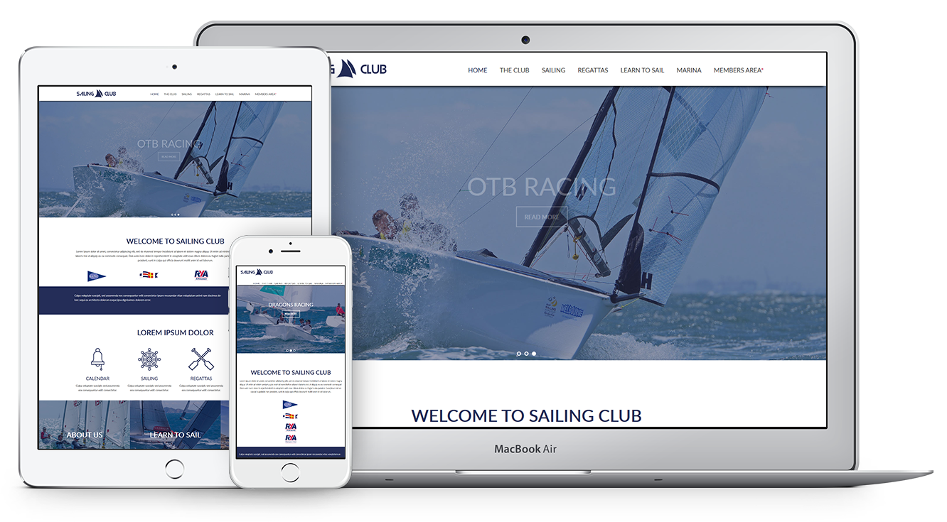 SPECIAL THEME FOR SAILING CLUBS