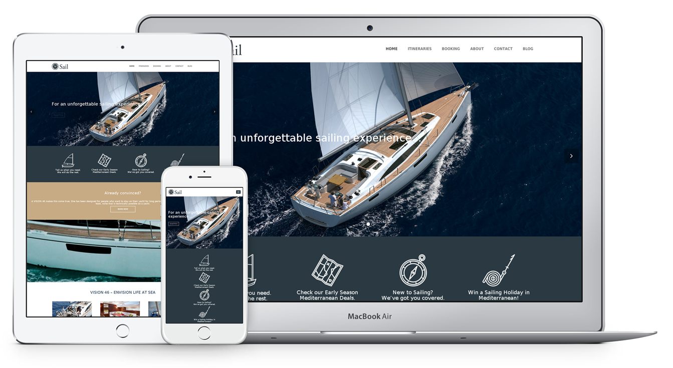 SPECIAL THEME FOR SAILING YACHTS