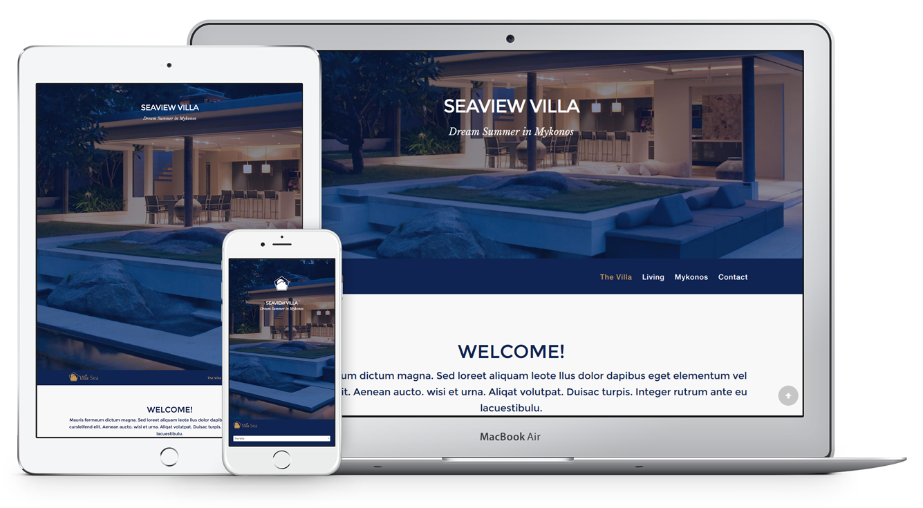UNIQUE THEME FOR SEASIDE VIEW VILLAS